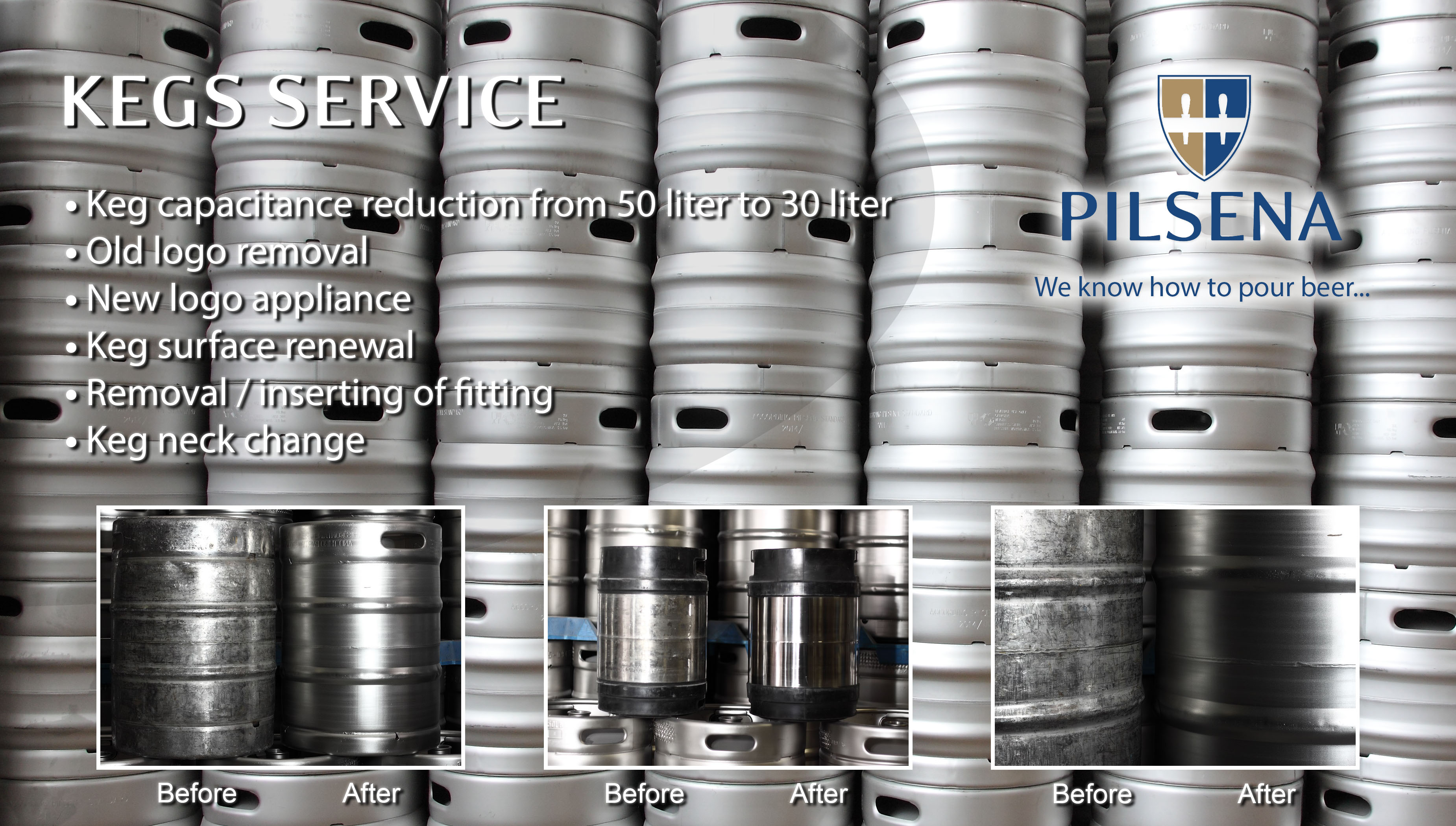 Kegs Services
