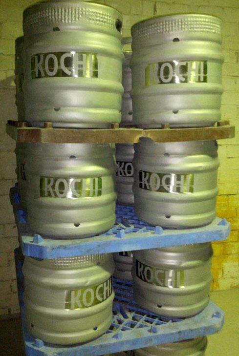 Restored kegs